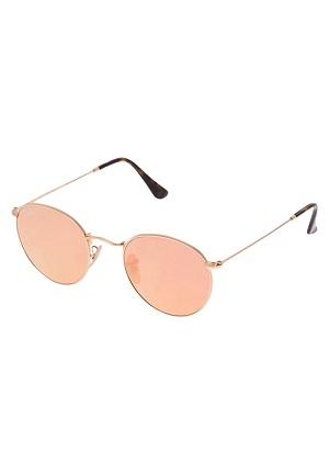Guld dame solbriller