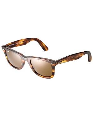 Klassiske smarte og brune solbriller til kvinder