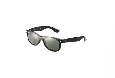 Smarte solbriller til kvinder i sort forside