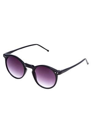 Sorte og fede solbriller til kvinder