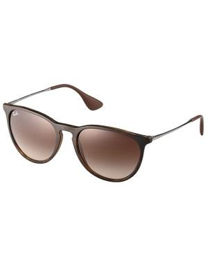 Tynde solbriller til kvinder i brun