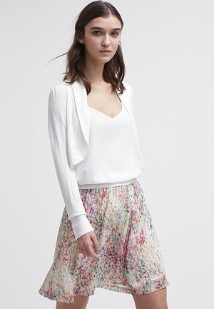 Bolero til kjole lang hvid