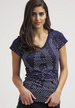Fed t-shirt til kvinder