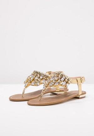 Gyldne smarte sko