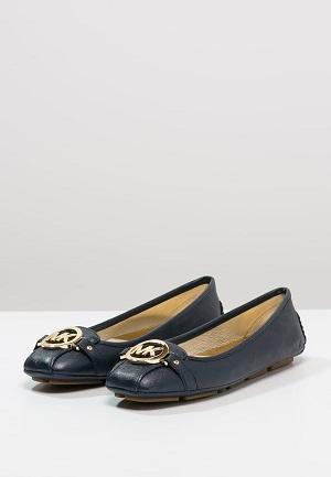 Navy smarte sko til kvinder
