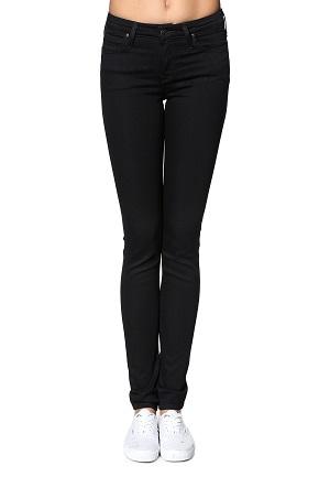Sorte slim jeans til kvinder