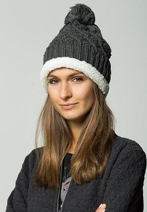 Flot og grå hue til vinteren