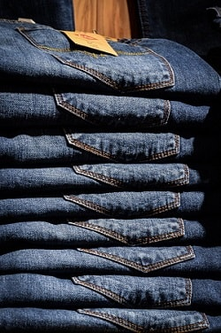 Masseproduktion jeans